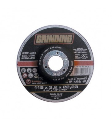GRINDING MINIDISCO PER FERRO D.115X3,2