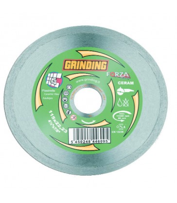 GRINDING DISCO DIAMANTATO CON CORONA CONTINUA MM.115