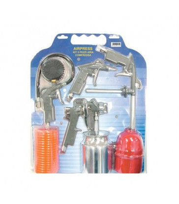 KIT ARIA COMPRESSA 5PZ. AIRPRESS