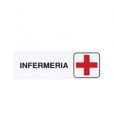 "ETICHETTA ADESIVA ""INFERMERIA"""