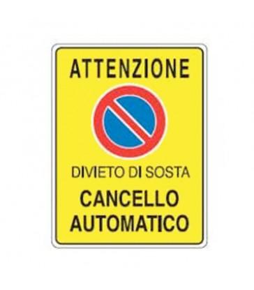 DIVIETO DI SOSTA CANCELLO AUTOMATICO