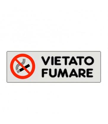 """ETICHETTA ADESIVA """"VIETATO FUMARE"""""""