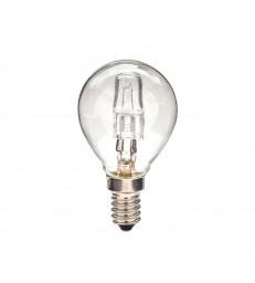 LAMPADINA SFERICA ALOGENA E14
