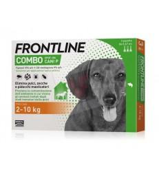 FRONTLINE COMBO ANTIPARASSITARIO COMBO PER CANI 2-10 KG (CF. 3 PIPETTE)