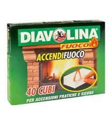 ACCENDIFUOCO DIAVOLINA 48 CUBETTI